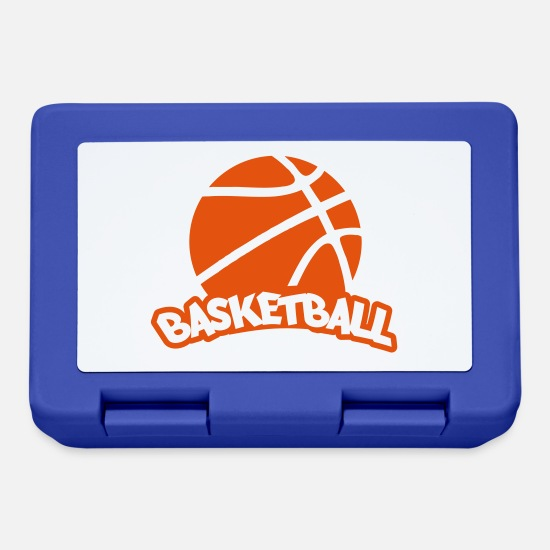 Basketball Brotdosen - basketball - Brotdose Royalblau