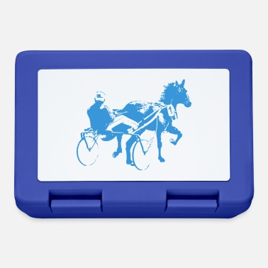 Trotter horse racing - Lunchbox
