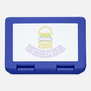 Osservatore Hamburger al neon - Lunch box