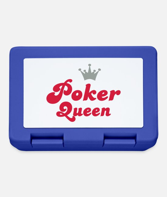 Poker Lunchboxes - poker - Lunchbox royal blue