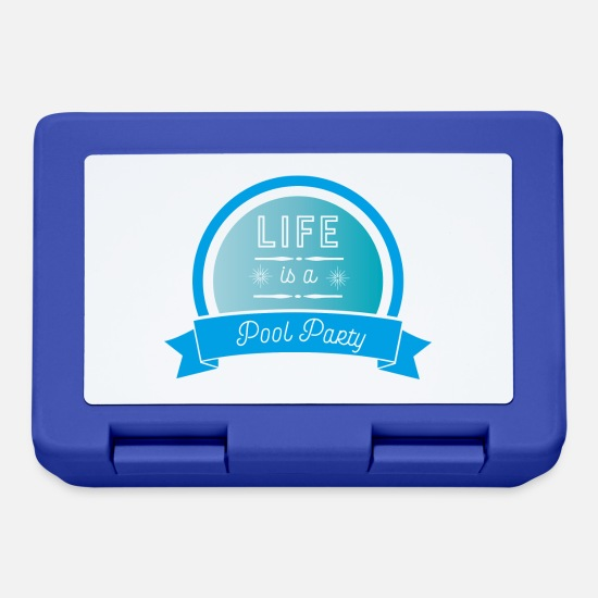 Daylight Lunchboxes - daylight saving time - Lunchbox royal blue