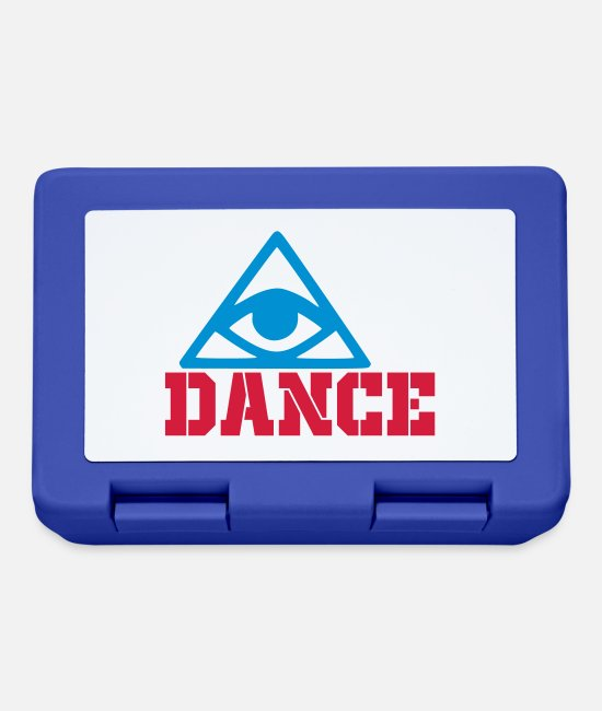 Happy Lunchboxes - dance - Lunchbox royal blue