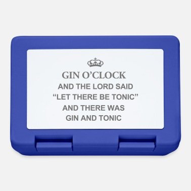 Disse Gin O'Clock E il Signore disse: Let There Be Tonic - Lunch box