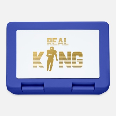 Quarterback Real King - Football Quarterback - Lunchbox
