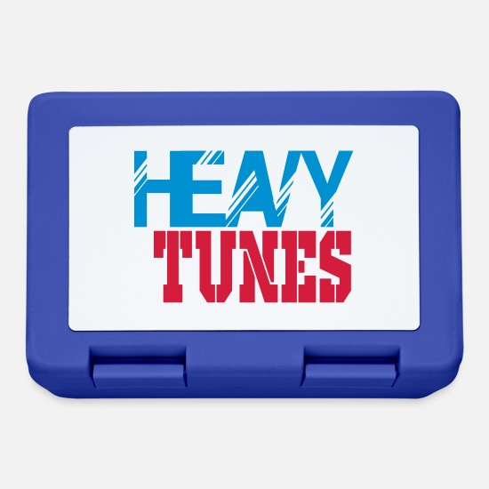 Raver Lunchboxes - heavy tunes - Lunchbox royal blue