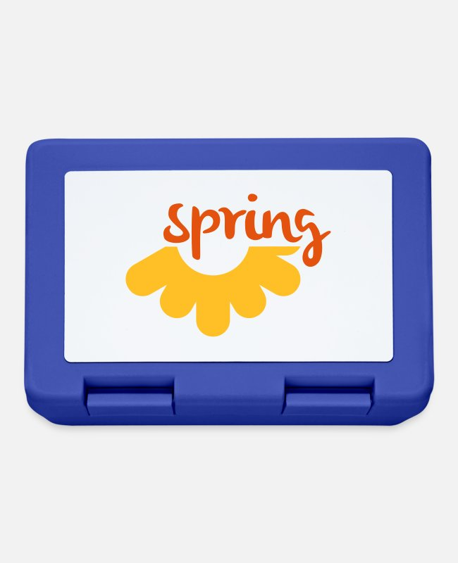 Bless You Lunchboxes - Spring / Spring - Lunchbox royal blue