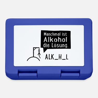 Alcohol Alcohol - Lunchbox