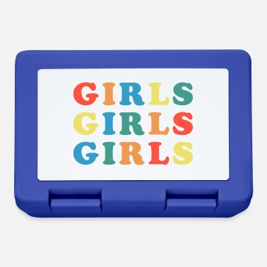 Girls Girls Girls Girls Feminist Quote - Lunchbox