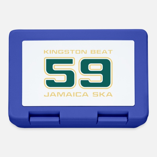 Jamaica Brotdosen - Jamaica Ska Kingston Beat 59 - Brotdose Royalblau