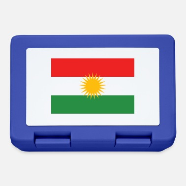 Kurdish Flag - Lunchbox