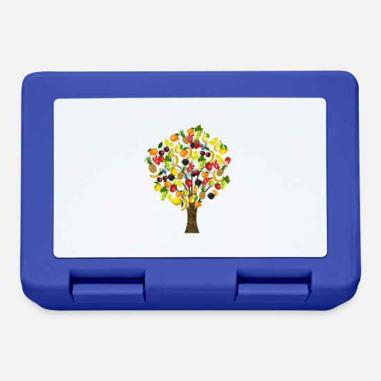 Tree Brotdosen - Fruit Tree - Brotdose Royalblau