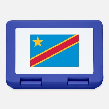 Democrat Democratic Republic of the Congo Flag - Lunchbox