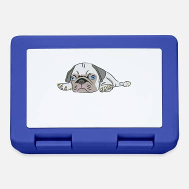 Schnarchnase Nope Not Today Comix Dog Dog Puppy Pug - Lunchbox