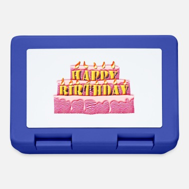 Birthday Cake birthday cake - Lunchbox