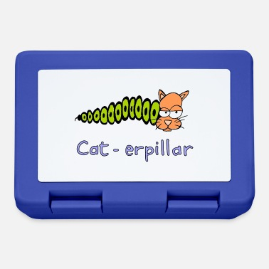 Playing With Words cat-erpillar hand drawn - Lunchbox