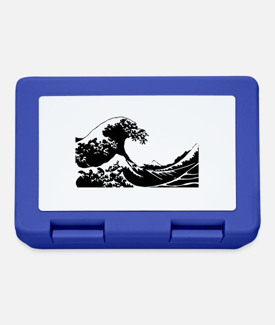 Wave Lunchboxes - Wave - Lunchbox royal blue