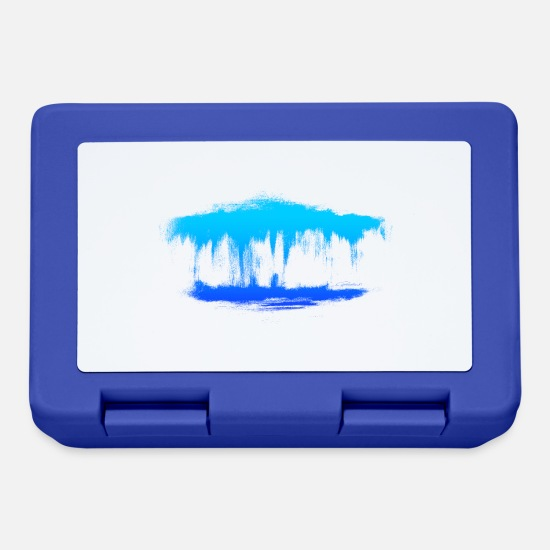 Art Lunchboxes - Water dreams - Lunchbox royal blue