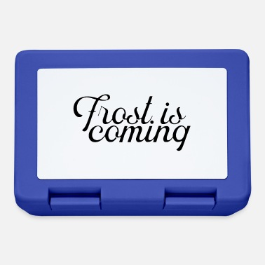Frost Frost is coming - Lunchbox