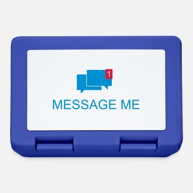Message Message Me / Call me / Message 3c - Lunchbox