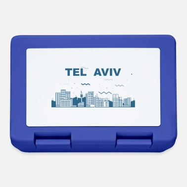 Experience Skyline Tel Aviv landmark travel gift Israel - Lunchbox