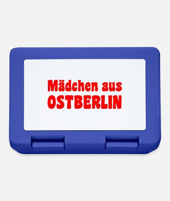Easter Lunchboxes - Mädchen aus Ostberlin - Lunchbox royal blue