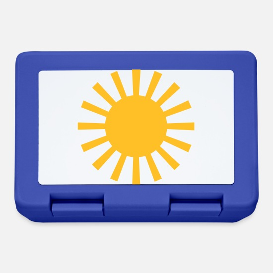 Sun Rays Lunchboxes - Sun - Lunchbox royal blue