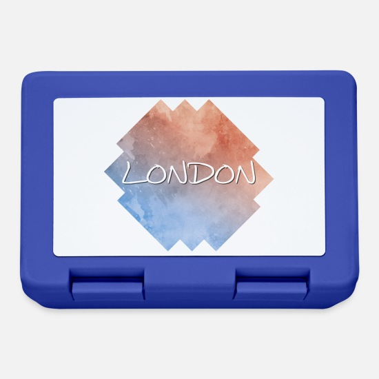 Colore Lunch boxes - Londra - Lunch box blu royal