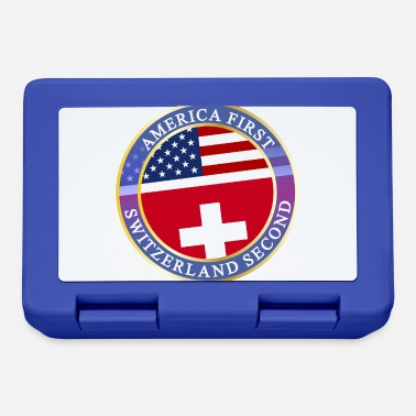Usa AMERICA FIRST SWITZERLAND SECOND - Brotdose