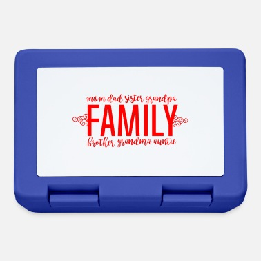 Family Day Family - Family Love - Lunchbox