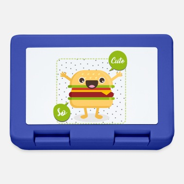Cute cute hamburger - Lunchbox