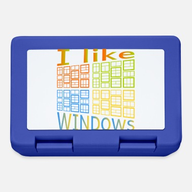 Windows Ik hou van Windows - Broodtrommel