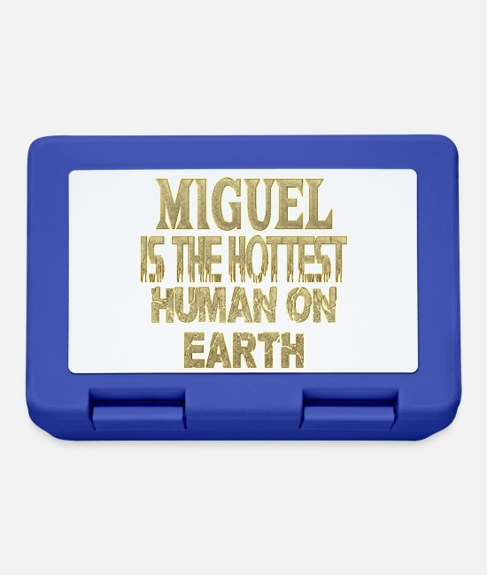Miguel Ángel Lunchboxes - Miguel - Lunchbox royal blue