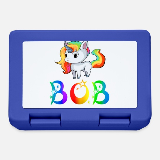 Bob Lunch boxes - Unicorn Bob - Lunch box blu royal