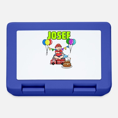 Josef Firefighter Josef gift - Lunchbox