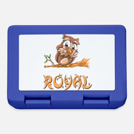 Royal Gift Lunchboxes - Owl royal - Lunchbox royal blue