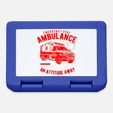 Ambulance Ambulance Emergency ride - ambulance - Lunchbox