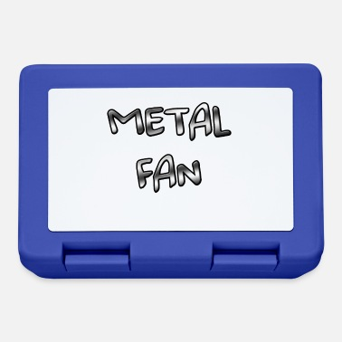 Shouter Metal Fan - For all hard rock, heavy metal freaks - Lunchbox