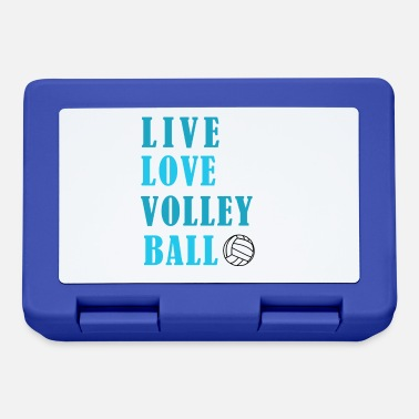 Teamsport Volleyball Passion Teamsport Club Gift - Lunchbox