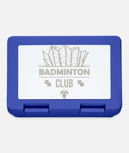 Game Ball Lunchboxes - Badminton Club Hart serve badminton club - Lunchbox royal blue