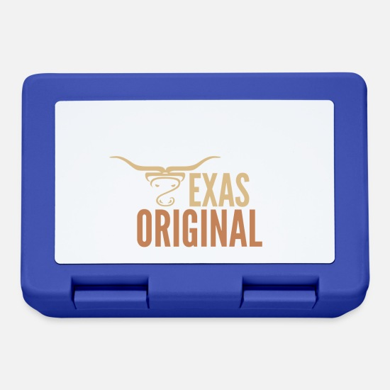 Usa Lunchboxes - Texas Original - USA - Lunchbox royal blue