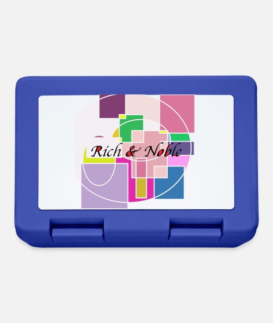 Architect Lunchboxes - Artwork artwork rich and noble - Lunchbox royal blue