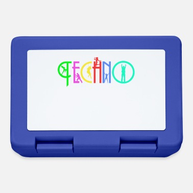 Lettering Lettering Techno - Lunch box