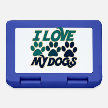 Dog I love my dogs - Lunchbox
