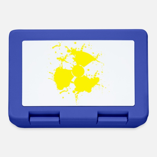 Symbol  Lunchboxes - nuclear - Lunchbox royal blue