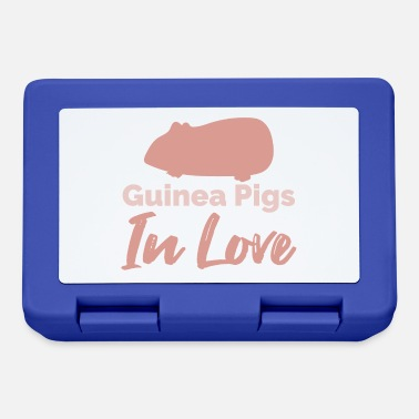 Sudamerica Guinea Pig Cavie in Love Regalo divertente - Lunch box