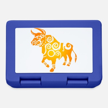 Astrology Maori horoscope bull gift idea - Lunchbox