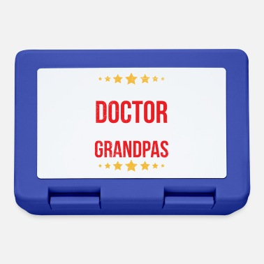 Senior Doctor Retired Doctors Make Amazing Grandpas Gift - Lunch box