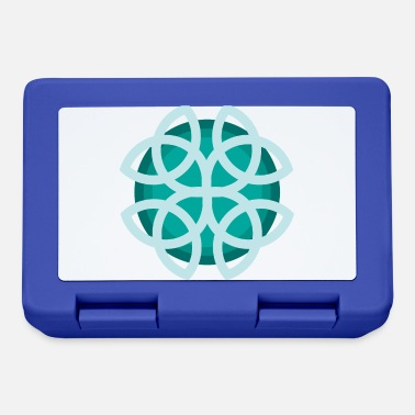 Shape Celtic symbols Dara knot gift idea - Lunchbox