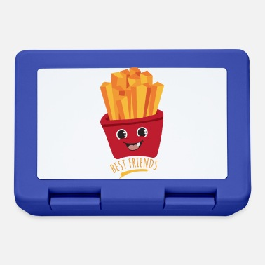 Fast Kids Best Friends French Fries Funny Gift - Lunchbox