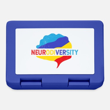 Puzzle Idea regalo di consapevolezza dell'autismo neurodiversale - Lunch box